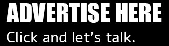 Advertise here. Click, fill out form, and let's get talking.