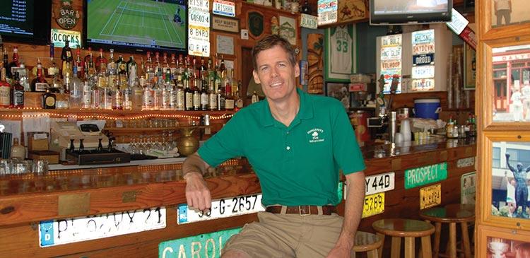Owner Jamie Maher, Dunleavy's Irish Pub