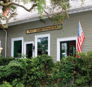 Post Quartermaster's Office turned home