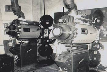 Post Theater Film Projectors