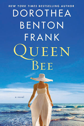 "Book cover - Frank's final novel, ""Queen Bee."""