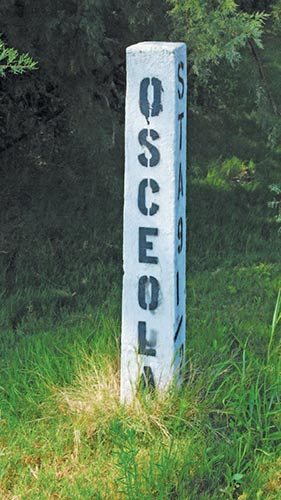 Seminole Chief Osceola, though technically an enemy of U.S. military forces, has a Sullivan's Island street named in his honor