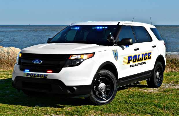 Sullivan's Island Police Cruiser