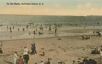 Sullivan's Island, SC historic beach photo