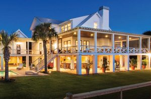 Sullivan's Island, South Carolina - the Hyman home
